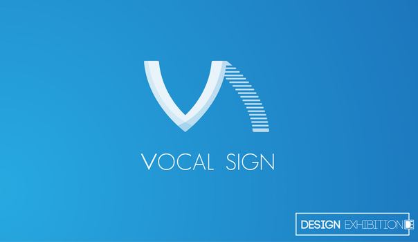 Vocal-sign Logo by TaigaDS