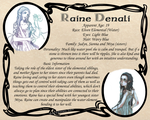 OCProfile: Raine Denali by Endorell-Taelos