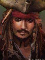 Jack Sparrow by Kay-Jay97