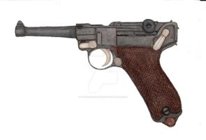 Luger P-08 Pistol by stopsigndrawer81