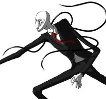 Finished Slenderman by Aureliette