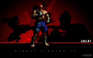 Sagat Street Fighter 4 by F-1