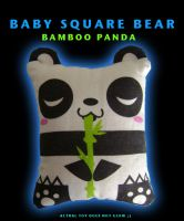 Bamboo Panda by fuish