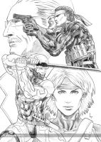 Metal Gear Solid 4 - Dec 2010 by veryveryluckyman