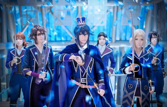 [K-project] The Blue King by quatre2323