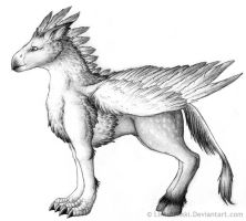 A Hippogriff by Lintufriikki