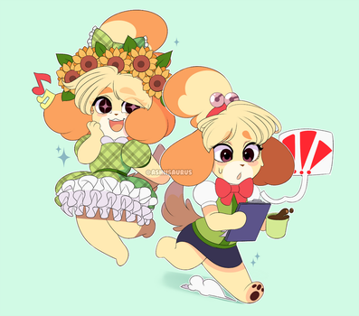 Animal Crossing: Isabelle by QueenAshi