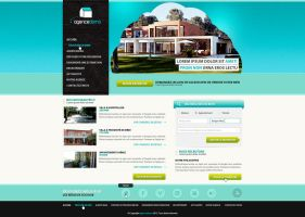Real estate agency template - SOLD by arkgrafik