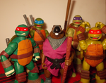 The boys and their daddy by TMNTFAN85