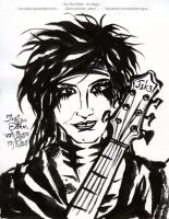Jake Pitts : Black Veil Brides by sw-eden