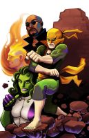 Heroes for Hire by MasonEasley