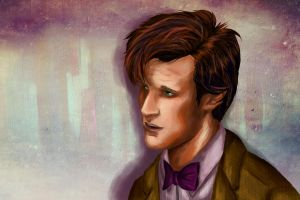 Eleventh Doctor by RobinPenson