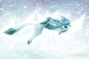 Glaceon by Psunna