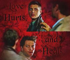 Hurts and Heals-oil painting filter by Scifiangel