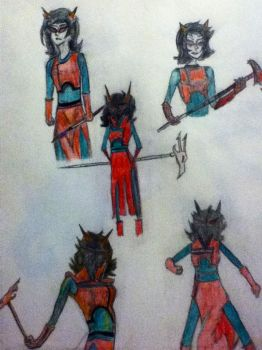 Showdown Terezi by TheDoctor-Rose-Jaime