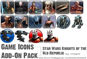 Game Icons: KotoR by imagox