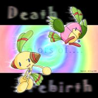 huggable death and rebirth? by nyotaro