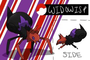 Black Widow Fakemon by TRspicy