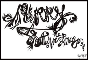 """""""Merry Christmas"""" by Lilithia"""