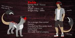 New Reference Sheet: Kadda by SevBD