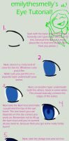 Eye Tutorial by emilythesmelly
