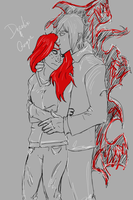 Derelix and Ging by thatoneginger
