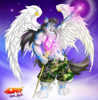 Oros the protector by rizegreymon