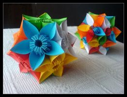 Kusudama Butterfly by lonely--soldier