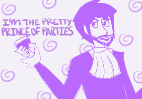 The Party Prince by nautical-anchors