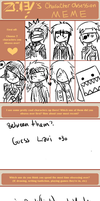 Character Obsession Meme o3o by creature002