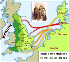 Anglo-Saxon migration by Arminius1871