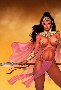 Dejah Thoris 29 Cover Colors by FabianoNeves