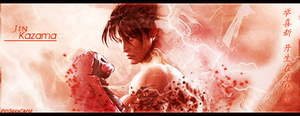 Jin Kazama signature by DeiSakuChris