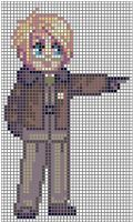 Alfred F. Jones Stitch Pattern by puppyrock3