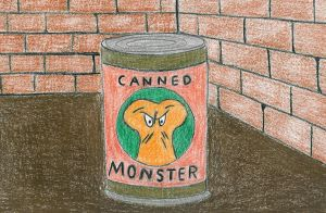 Canned Monster by 12jack12