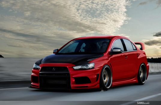 Mitsubishi Lancer Evolution by SaMuVT