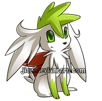 Shaymin: Sky Form by Jiayi
