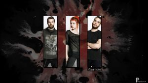 Paramore Wallpaper by Corfield