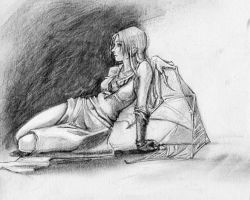 Lonely Girl by datoria