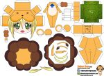 Saber Lion (Joey's Chibi Girls 018B) by ELJOEYDESIGNS