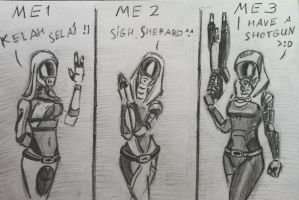 sketches Tali (40) by spaceMAXmarine