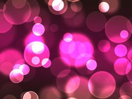 Pink Bokeh Stock by contractcat