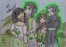 Ninjago oc's-Family #51 by MalikiFlowers30