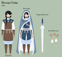 LoZ - Boreas Reference Sheet by porcelian-doll