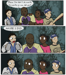 The expedition gets awkward by zarla