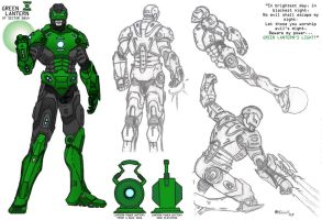 My Green Lantern by kameleon84