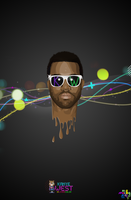kanye west vector by macky17g