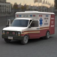 Ambulance Vue HDRI by JHoagland