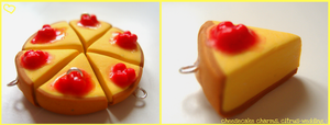 cheesecake charms by citruscouture