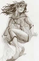 Spider-Woman 2010 by RadPencils